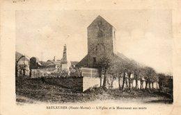 SAULXURES......l Eglise Et Le Monument Aux Morts.... - France
