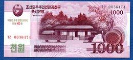 Corée Du Nord -  1000 Won  -  Pick # CS 15   - état  SPL - Corée Du Nord