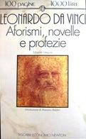 AFORISMI NOVELLE E PROFEZIE Leonardo Da Vinci Newton & Compton - Fantascienza E Fanstasy