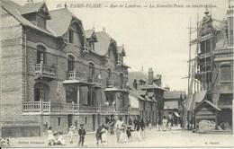 Le Touquet - Paris Plage - Rue De Londres - La Nouvelle Poste En Construction - Le Touquet