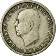 Monnaie, Grèce, Paul I, Drachma, 1962, TB+, Copper-nickel, KM:81 - Grèce