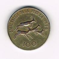 // TANZANIA  100  SHILINGI  1994 - Tanzanie