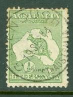 Australia: 1913/14   Kangeroo   SG1   ½d   Used - 1913-48 Kangaroos