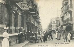 Le Touquet - Paris Plage - Rue De Paris  ( Belle Animation ) - Le Touquet