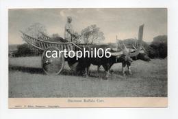 - CPA BIRMANIE (Myanmar) - Burmese Buffalo Cart (avec Attelage De Boeufs) - Edition P. Klier 98471 - - Myanmar (Burma)