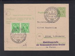 Alliierte Besetzung GSK Mit ZuF Sonderstempelö Tauberbischofsheim 1946 - Bizone