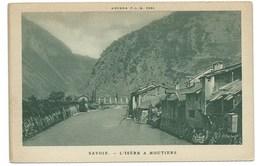 CPA SAVOIE / L'ISERE A MOUTIERS - Moutiers