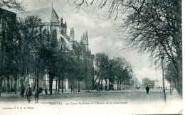 N°73379 -cpa Nantes -le Cours St Pierre Et L'abside De La Cathédrale- - Nantes