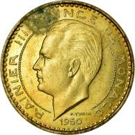 Monnaie, Monaco, 10 Francs, 1950, SUP, Cupro-Aluminium, Gadoury:139, KM:E24 - Monaco