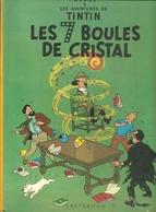 TINTIN = LES 7 BOULES DE CRISTAL - Tintin
