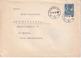 TCHECOSLOVAQUIE 1956 LETTRE DE VARNSDORF - Tschechoslowakei/CSSR