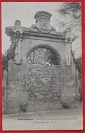 Cpa 02 SAINT QUENTIN Porte De L'ancienne Propriete Des Carabiniers - Saint Quentin