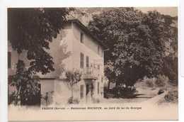 - CPA BRISON (73) - Restaurant BOCQUIN, Au Bord Du Lac Du Bourget - Cliché J. Lançon - - France