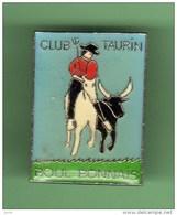 TAUROMACHIE - CORRIDA *** CLUB TAURIN BOUL BONNAIS *** 1008 - Tauromachie - Corrida