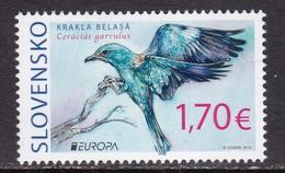 Slovakia, Fauna, Birds, EUROPA MNH / 2019 - Autres