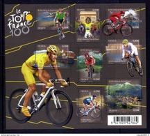 F4755 - Tour De France - Blocs & Feuillets