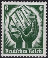 ALLEMAGNE GERMANY DEUTSCHES III REICH 509 ** MNH : Plébiscite En Sarre Saarland 1934 (CV 32 €) - Nuevos