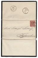 DA ON.GIACOMO MATTEI DA PESARO A FOSSOMBRONE - 28.6.1872. - Marcophilia