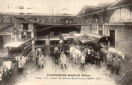 Papeteries MARTIN Frères - 167 Avenue Du Général Michel Bizot - Paris XII - Petits Métiers à Paris