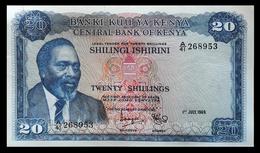 # # # Banknote Kenia (Kenya) 20 Schillingi 1969 # # # - Kenia