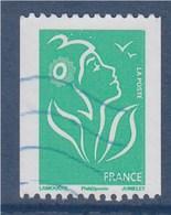 = Type Marianne De Lamouche TVP Vert De Roulette Phil@poste Oblitéré N°3742a - 2004-08 Marianne Of Lamouche