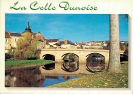 La Celle Dunoise Le Pont Sur La Creuse 1999 CPM Ou CPSM - Francia