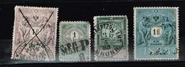 Lot Autriche Anciens Timbres Fiscaux à Identifier - Stamps