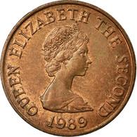 Monnaie, Jersey, Elizabeth II, Penny, 1989, TTB, Bronze, KM:54 - Jersey