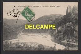 DD / 43 HAUTE LOIRE / MONISTROL-D' ALLIER / L' ALLIER  -  ROC DE VIVIER / 1913 - Andere Gemeenten