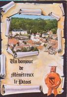 Ménétreux Le Pitois   H221         Un Bonjour De Ménétreux Le Pitois - Other Municipalities