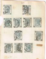 Lot Hong Kong Anciens Timbres à Identifier - Postzegels