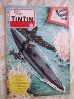 TINTIN BELGE  NO 52- 12/1953-RC DIVERS-DOC MOTO HARLEY DAVIDSON--VOIR - Tintin