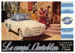 Renault 4cv Coupé Autobleu - Voitures De Tourisme