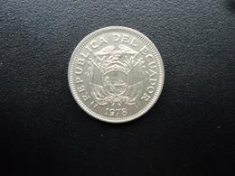 ÉQUATEUR : 20 CENTAVOS   1978    KM 77.2a     SUP+ - Ecuador