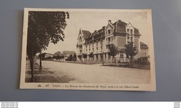 CAEN _ LA MAISON DES ETUDIANTS ET RUE ALBERT SOREL    ……LA-1716 - Caen