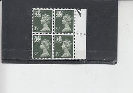 GRAN BRETAGNA  1974 - Unificato 711 (quartina) - Scozia - Regionali