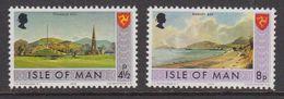 Isle Of Man 1975 Definitives 2v ** Mnh (42918A) - Man (Eiland)
