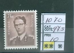 1070 Xx Côte 97.50€ - 1953-1972 Lunettes