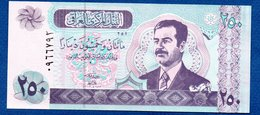Irak- 250  Dinars 2002  -  Pick # 88  - état  UNC - Irak