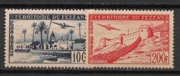 Fezzan - 1951 - Poste Aérienne PA  N°Yv. 6 à 7 - Série Complète - Neuf Luxe ** / MNH / Postfrisch - Fezzan (1943-1951)