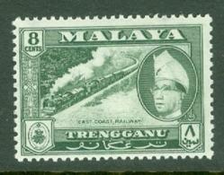 Malaya - Trengganu: 1957/63   Sultan Ismail - Pictorial    SG93   8c   MNH - Trengganu