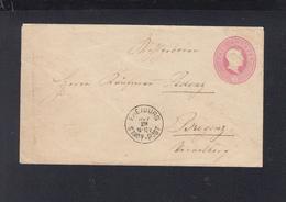 Umschlag Freiburg Stadt-Post über Bahnpost Nach Bregenz - Baden