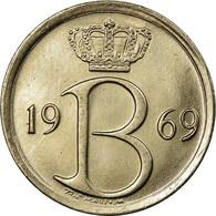 Monnaie, Belgique, 25 Centimes, 1969, Bruxelles, SUP+, Copper-nickel, KM:154.1 - 1951-1993: Baudouin I