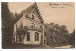 CPA PK  CHATEAU DES AMEROIS   PROPRIETE DE S.A.R. MADAME LA COMTESSE DE FLANDRE  LE PAVILLON DES OFFICIERS - Belgique