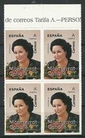 ESPAÑA 2019 - Personajes - Monserrat Caballé ** - 1931-Aujourd'hui: II. République - ....Juan Carlos I