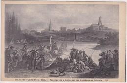 49 SAINT FLORENT Le VIEIL Passage Dela Loire Par Les Vendéens En Octobre 1793 , Guerre De Vendée - Francia