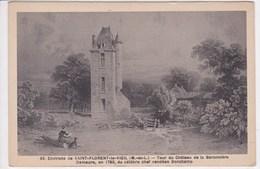 49 SAINT FLORENT Le VIEIL Tour Et Château De La Baronnière Du Chef Vendéen Bonchamp , Guerre De Vendée - Francia