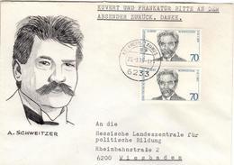 D+ Deutschland 1975 Mi 830 Albert Schweitzer (UNIKAT / ÙNICO / PIÉCE UNIQUE / JEDINEČNÝ) - BRD
