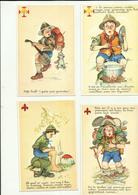 ** .  BOYS-SCOUTS        **--Série  De  12 Cartes  Postales  ! - - Scoutisme
