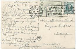 9Dp-817:ESPERANTO- Vignet  Op Nieuwjaarskaartje Met N°194 - 1922-1927 Houyoux